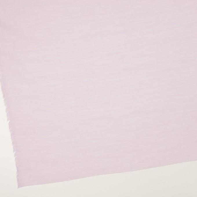 コットン&レーヨン×無地(モーブ)×ボイル イメージ2