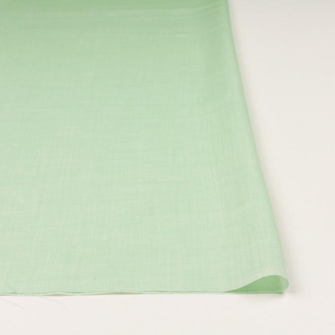 コットン&レーヨン×無地(グリーン)×ボイル イメージ3