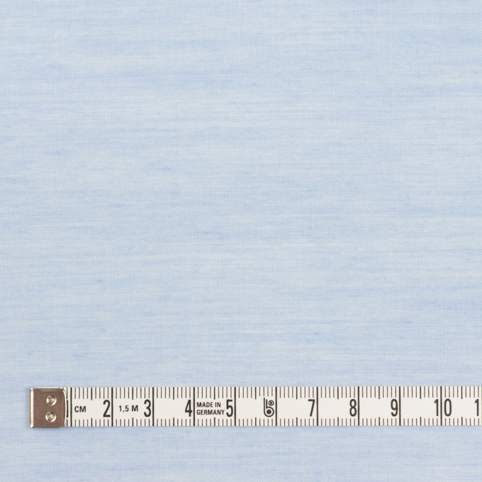 コットン&レーヨン×無地(サックス)×ボイル イメージ4