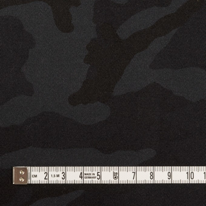コットン&ポリウレタン×迷彩(チャコール)×チノクロス・ストレッチ_全3色 イメージ4