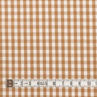 コットン×チェック(モカ)×ブロード_全3色 サムネイル4