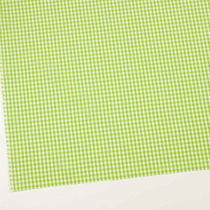コットン×チェック(イエローグリーン)×ブロード_全3色 イメージ2