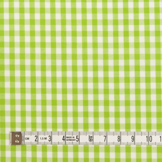 コットン×チェック(イエローグリーン)×ブロード_全3色 イメージ4