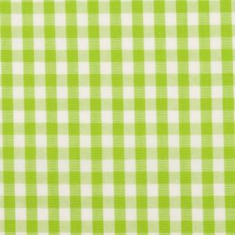 コットン×チェック(イエローグリーン)×ブロード_全3色 サムネイル1