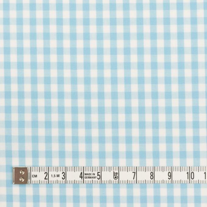 コットン×チェック(サックス)×ブロード_全3色 イメージ4