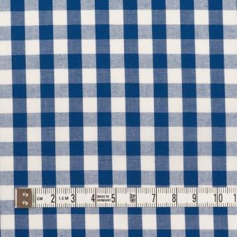 コットン×チェック(ブルー)×ブロード サムネイル4