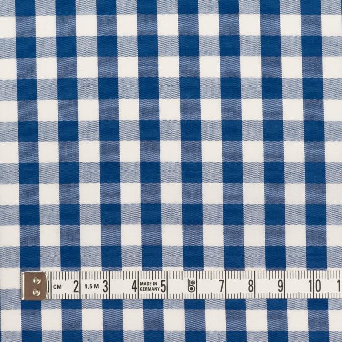 コットン×チェック(ブルー)×ブロード イメージ4