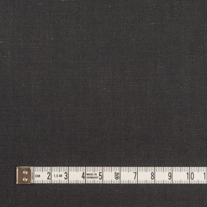 コットン&リネン×無地(チャコールグレー)×シャンブレー イメージ4