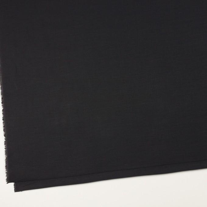コットン&リネン×無地(チャコールブラック)×ポプリン イメージ2