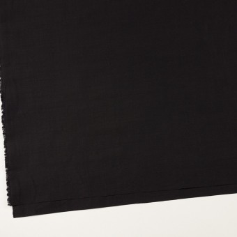 ラミー&ナイロン×無地(ブラック)×ポプリン サムネイル2