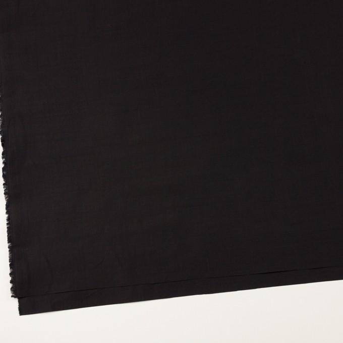 ラミー&ナイロン×無地(ブラック)×ポプリン イメージ2