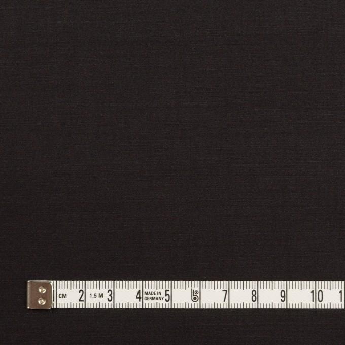 ラミー&ナイロン×無地(ブラック)×ポプリン イメージ4
