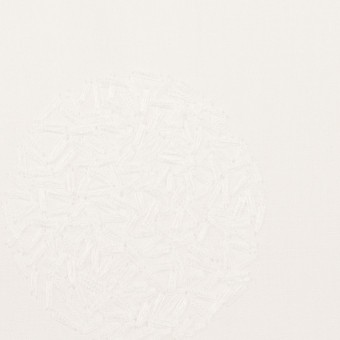 コットン×サークル(ホワイト)×ローン刺繍_全4色