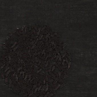コットン×サークル(ブラック)×ローン刺繍_全4色