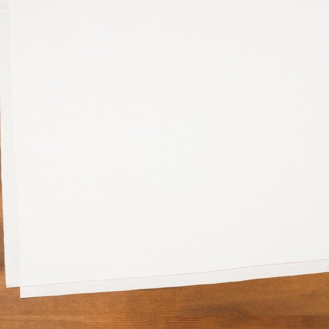 コットン&モダール×無地(ホワイト)×スムースニット_全2色 イメージ2