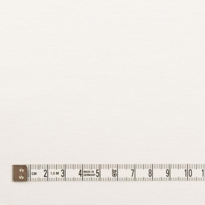 コットン&モダール×無地(ホワイト)×スムースニット_全2色 イメージ4