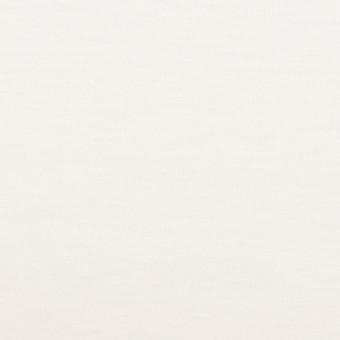 コットン&モダール×無地(ホワイト)×スムースニット_全2色