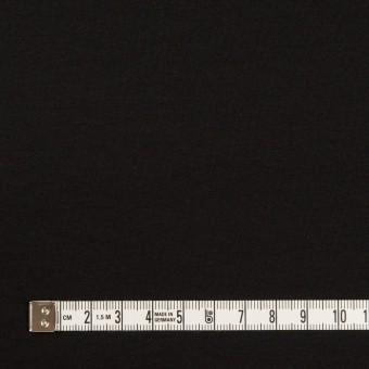 コットン×無地(ブラック)×スムースニット サムネイル4