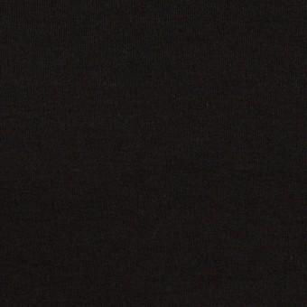 コットン×無地(ブラック)×スムースニット サムネイル1