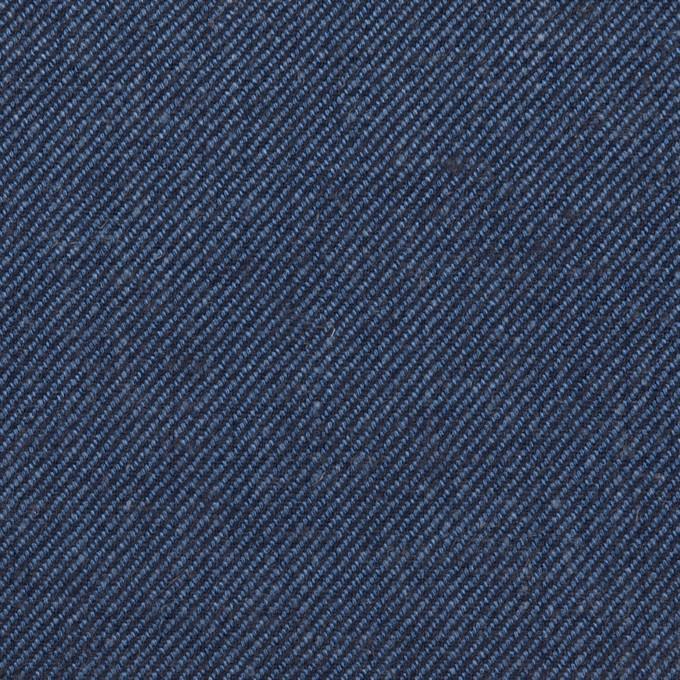 リネン&コットン×無地(ネイビーブルー)×サージ_全2色 イメージ1