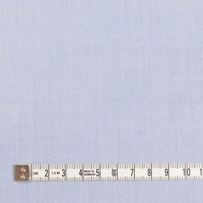 コットン×無地(ファウンテンブルー)×シャンブレー・ローン イメージ4