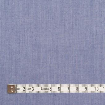 コットン×無地(ブルー)×シャンブレー・ローン サムネイル4
