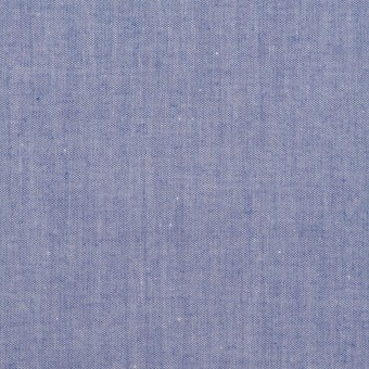 コットン×無地(ブルー)×シャンブレー・ローン サムネイル1