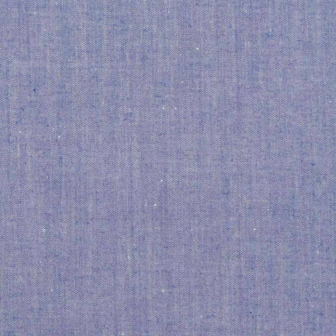 コットン×無地(ブルー)×シャンブレー・ローン イメージ1