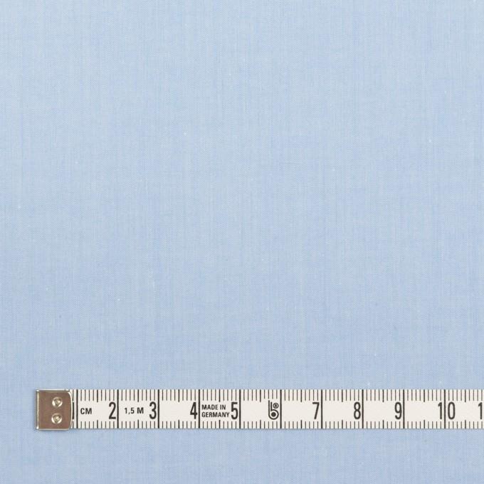 コットン×無地(サックス)×シャンブレー・ローン イメージ4