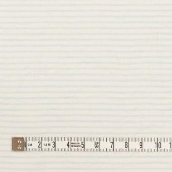コットン×ボーダー(サックス)×ボイルワッシャー サムネイル4