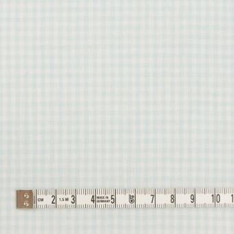 コットン×チェック(サックス)×Wガーゼ サムネイル4
