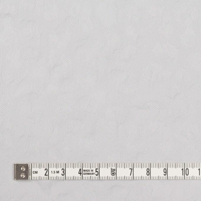 ポリエステル&コットン混×レオパード(ウィステリアミスト)×ジャガード・ストレッチ イメージ4