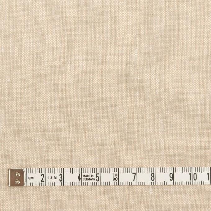 リネン×無地(ライトベージュ)×薄キャンバス_全2色 イメージ4