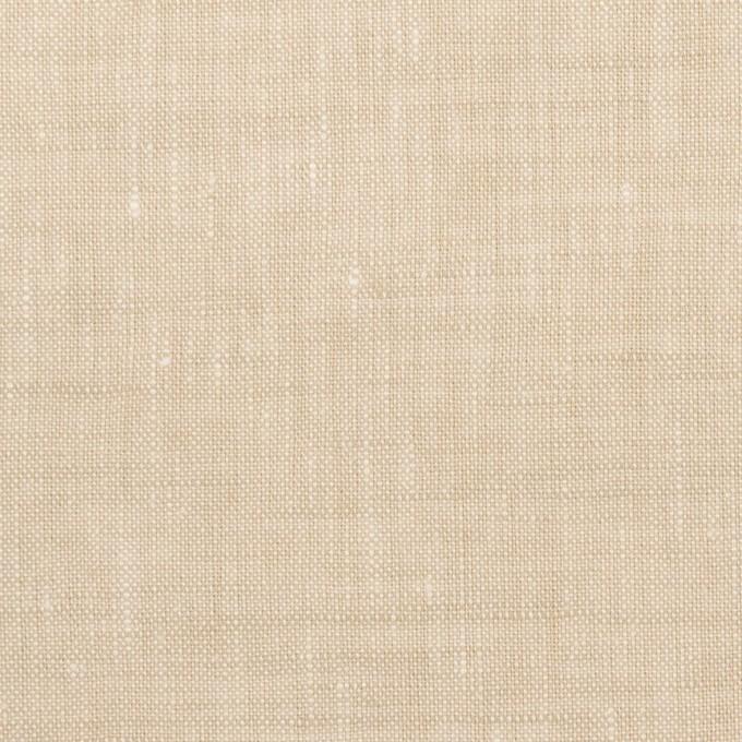 リネン×無地(ライトベージュ)×薄キャンバス_全2色 イメージ1