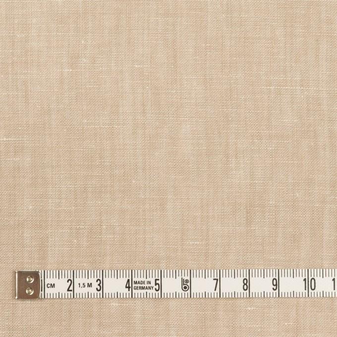 リネン×無地(ベージュ)×薄キャンバス_全2色 イメージ4