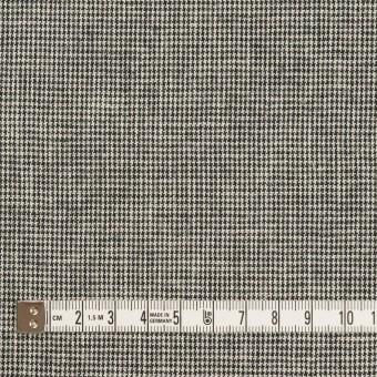 リネン&コットン×チェック(キナリ&ブラック)×千鳥格子 サムネイル4