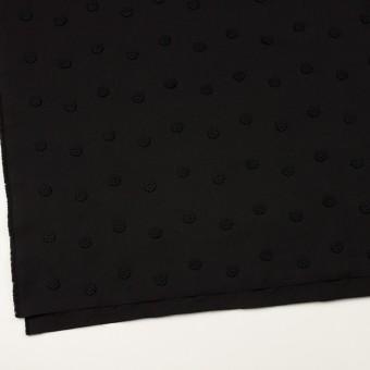 コットン×フラワー(ブラック)×アートピケ・モチーフレース サムネイル2