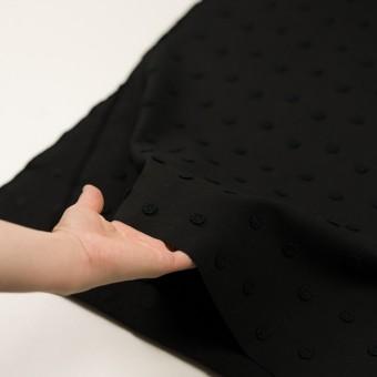 コットン×フラワー(ブラック)×アートピケ・モチーフレース サムネイル5