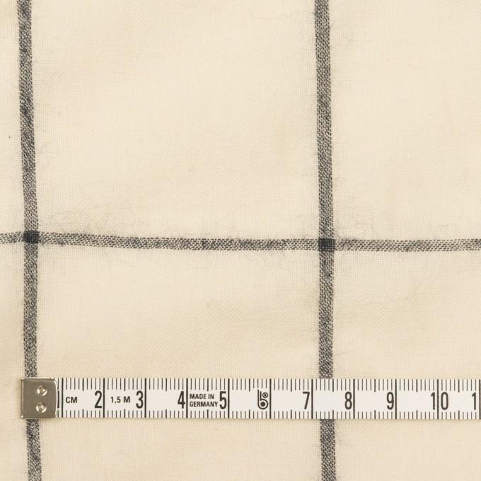 コットン×チェック(キナリ&ダークネイビー)×ガーゼ イメージ4
