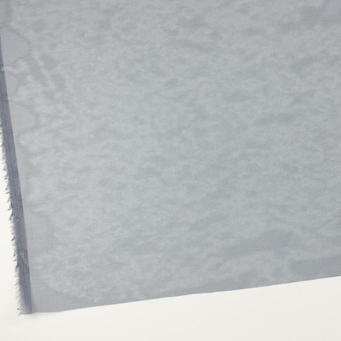 ポリエステル×無地(ネイビー)×オーガンジー_全4色 イメージ2