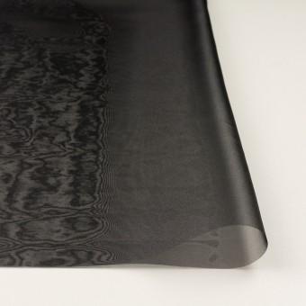 ポリエステル×無地(ブラック)×オーガンジー_全4色 サムネイル3