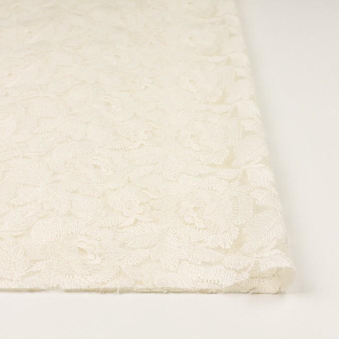 ナイロン×フラワー(キナリ)×オーガンジー刺繍_全2色 イメージ3