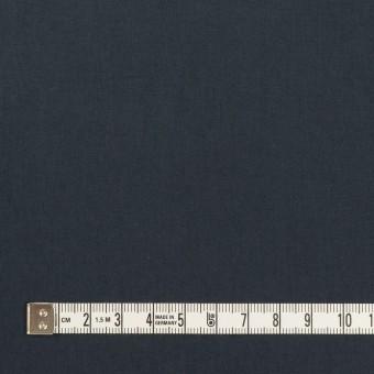 コットン×無地(アッシュネイビー)×高密ローン_イタリア製 サムネイル4