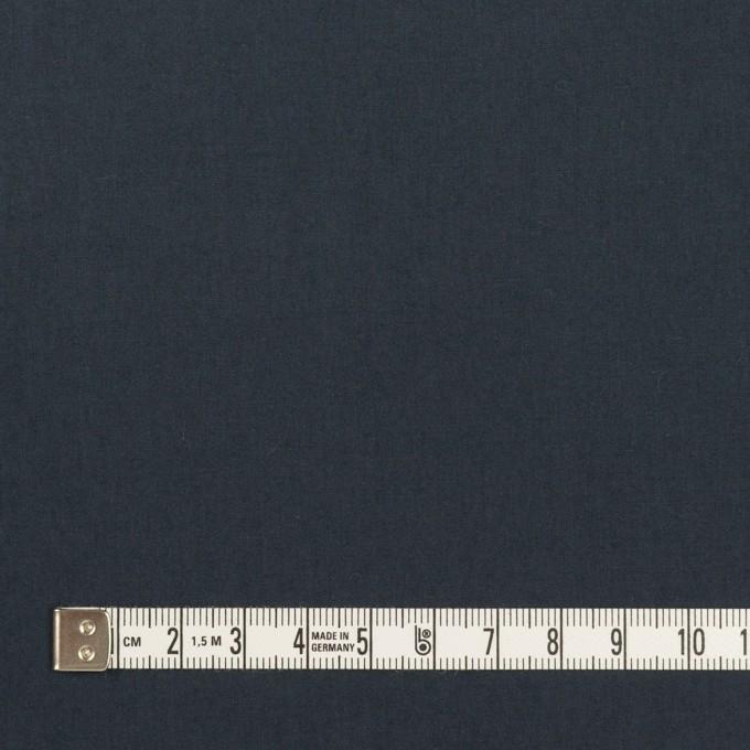 コットン×無地(アッシュネイビー)×高密ローン_イタリア製 イメージ4