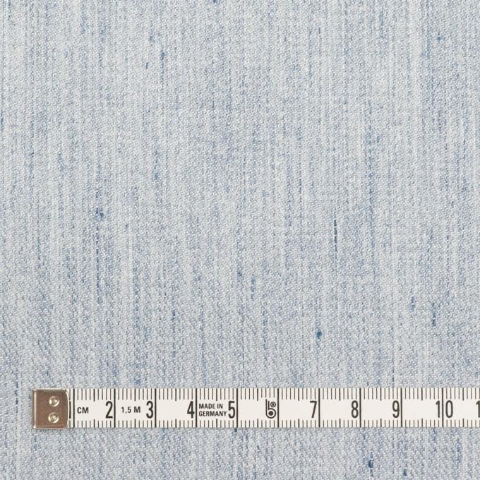 コットン&リネン×無地(サックス)×サージ イメージ4