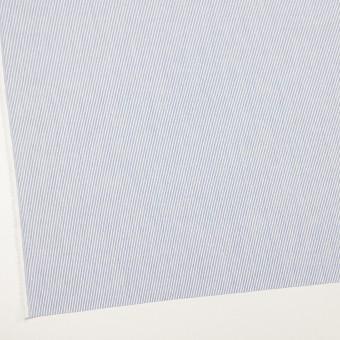 コットン&リネン×ストライプ(ブルー)×ブロード サムネイル2