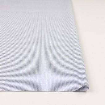 コットン&リネン×ストライプ(ブルー)×ブロード サムネイル3