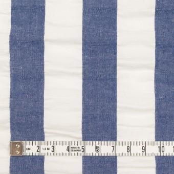コットン×ストライプ(アッシュブルー&ホワイト)×ポプリン&サッカー_全4色 サムネイル4