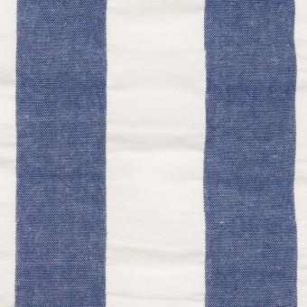コットン×ストライプ(アッシュブルー&ホワイト)×ポプリン&サッカー_全4色