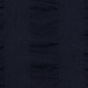 コットン×ストライプ(ダークネイビー)×ポプリン&サッカー_全4色 サムネイル1